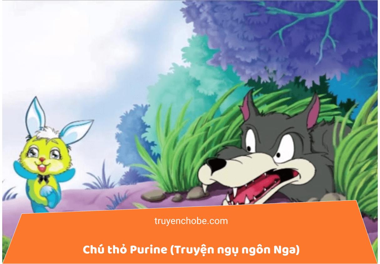 Chú thỏ Purine (Truyện ngụ ngôn Nga)