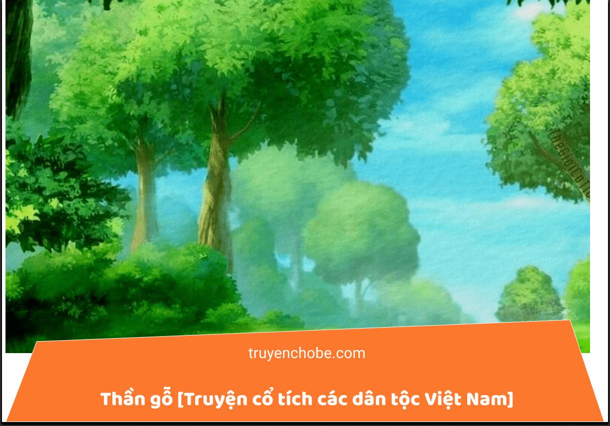 Thần gỗ [Truyện cổ tích các dân tộc Việt Nam]