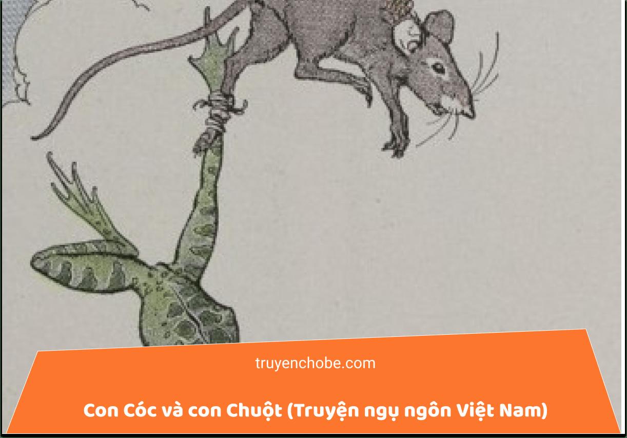 Con Cóc và con Chuột (Truyện ngụ ngôn Việt Nam)
