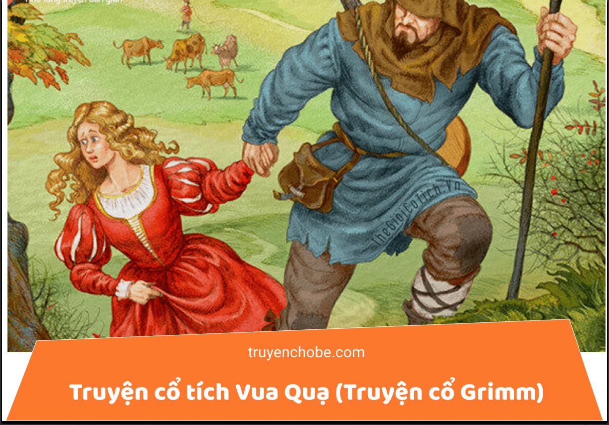 Truyện cổ tích Vua Quạ (Truyện cổ Grimm)