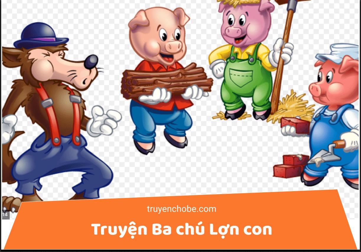 Truyện Ba chú Lợn con