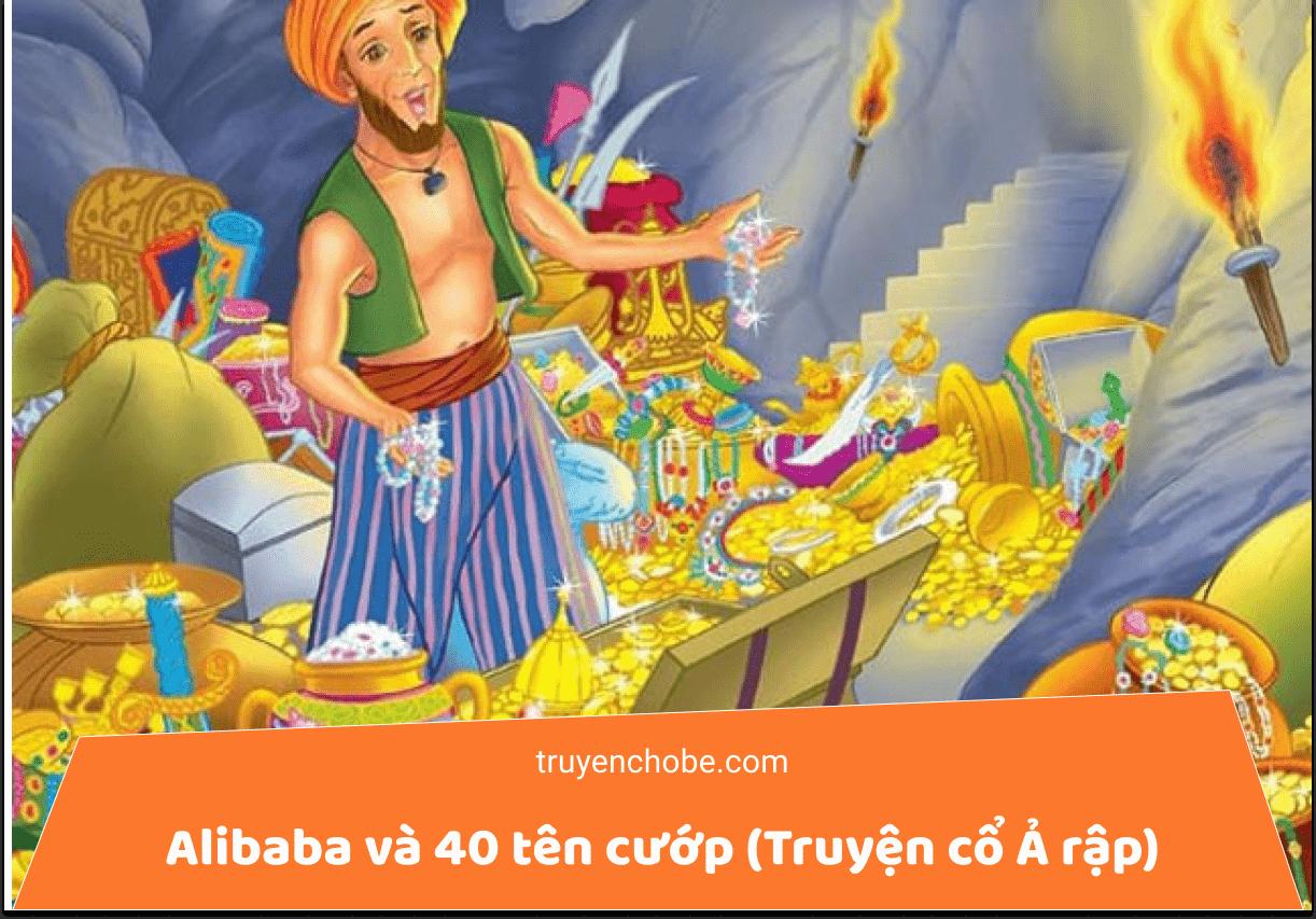Alibaba và 40 tên cướp (Truyện cổ Ả rập)