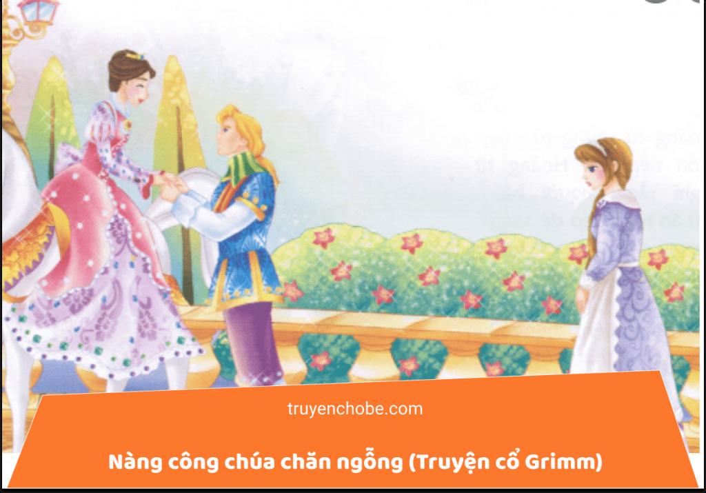Nàng công chúa chăn ngỗng (Truyện cổ Grimm)