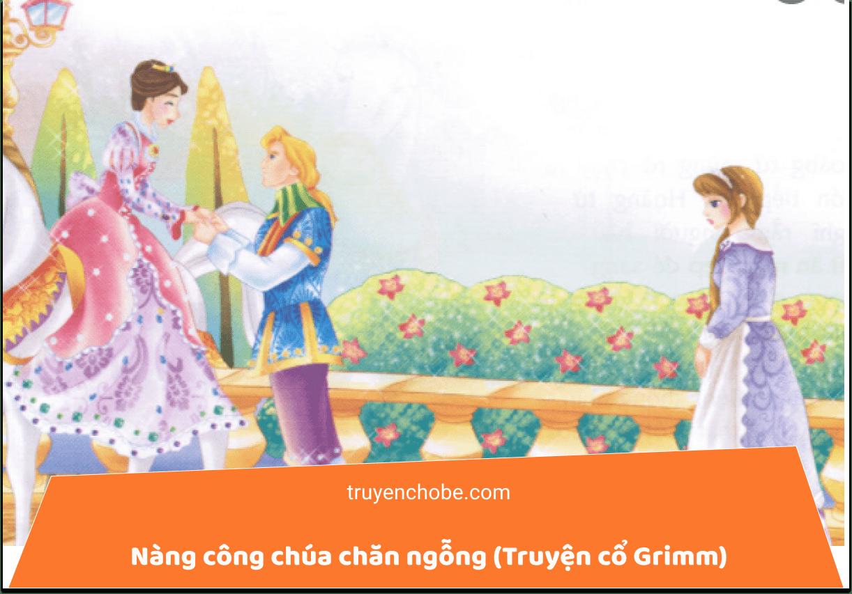 Nàng công chúa chăn ngỗng (Truyện cổ Grimm) - Truyện cổ Grimm