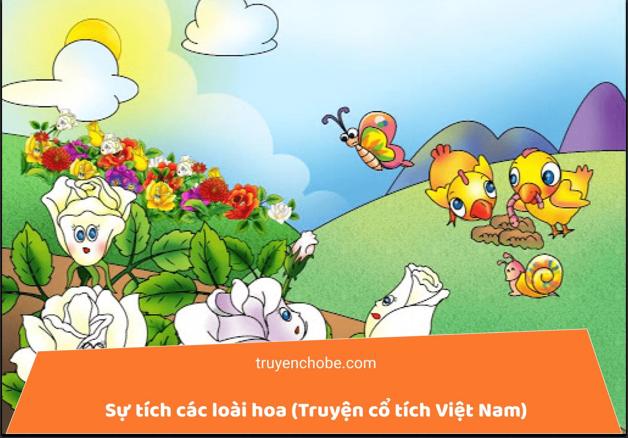 Sự tích các loài hoa (Truyện cổ tích Việt Nam)