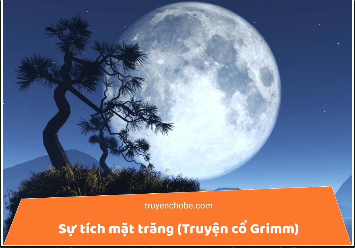 Sự tích mặt trăng (Truyện cổ Grimm)
