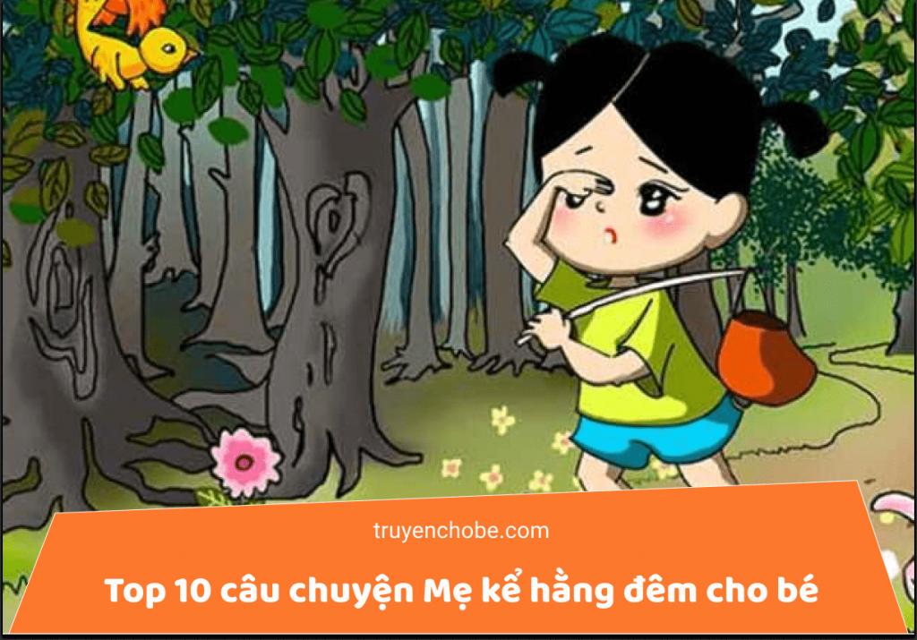 Top 10 câu chuyện Mẹ kể hằng đêm cho bé