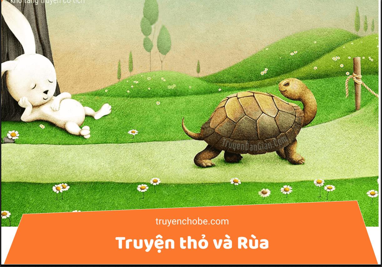 Truyện thỏ và rùa