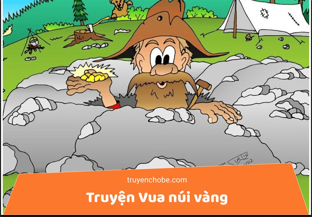 Truyện kể cho bé trước giờ ngủ: Vua núi Vàng