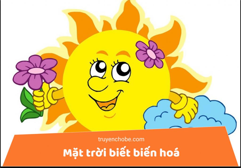 Mặt trời biết biến hoá